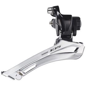 Shimano 105 FD-5700 Umwerfer 2 fach schwarz/silber
